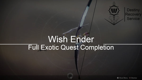 Wish Ender Quest Completion - Destiny 2 Trials of Osiris Spare | DestinyRecoveryService | Destiny Recovery Service | Season of Arrivals | Shadowkeep |
