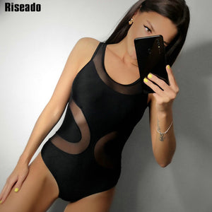 Sexy Mesh One-Piece Swimsuit
