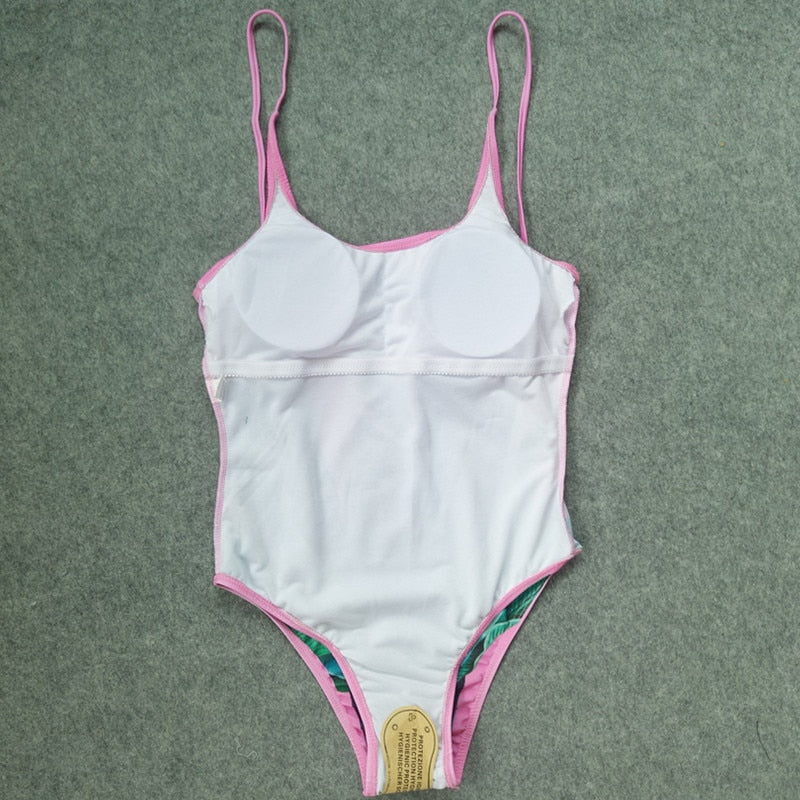 Story of A Leaf One-Piece Bathing Suit