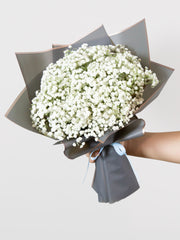Baby's breath-only bouquet
