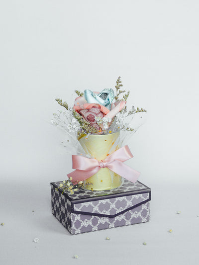 Money Bouquet Box