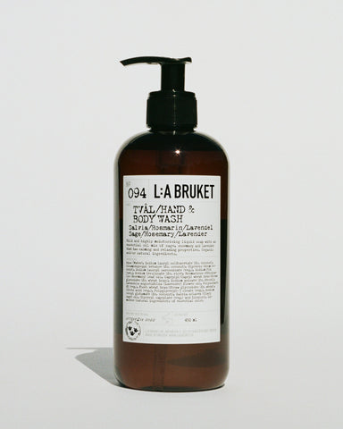 L:A Bruket 094 Hand & Body Wash Salvia/Rosmarin/Lavendel, 450ml