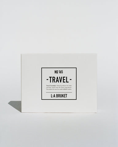 L:A Bruket 165 Travel Kit, Lemongrass & Bergamot/Patchouli,4x60ml