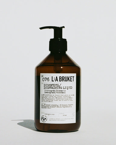 L:A Bruket 076 Dish Washing Liquid, Lemongrass/Rosemary, 500ml