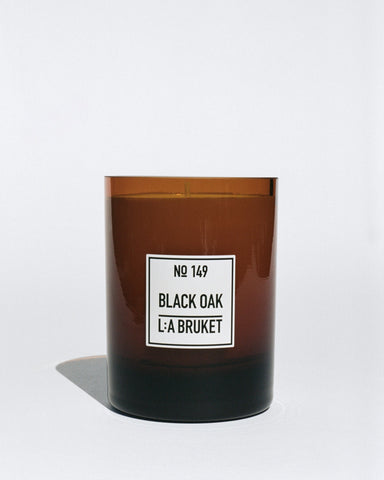 L:A Bruket 149 Scented Candle, Black Oak, 260g