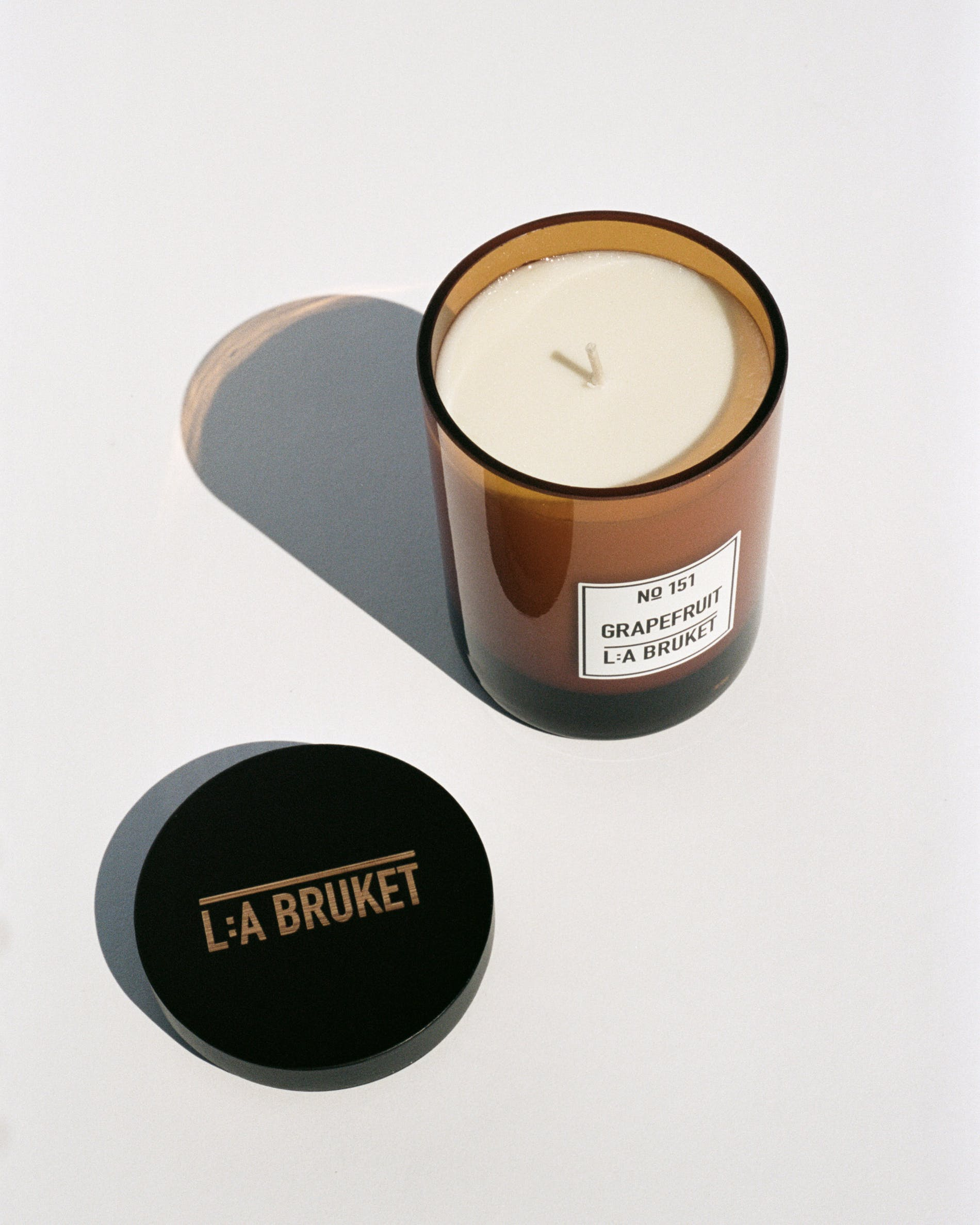L:A Bruket 151 Scented Candle, Grapefruit, 260g