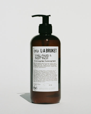 L:A Bruket Body wash Citrongræs/Lemongræs