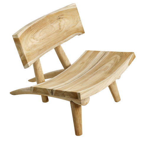 Dakota chair from Muubs in natural teak wood