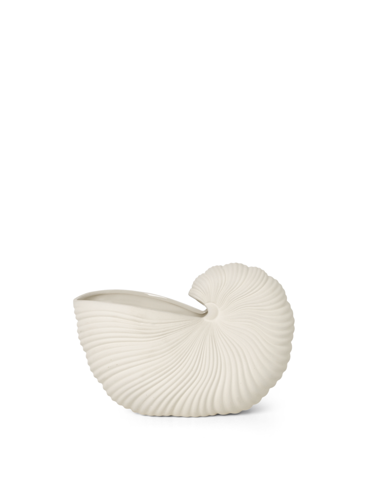Ferm Living, Shell Pot - Off White