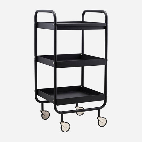 House Doctor Trolley Rullebord, Stor Sort