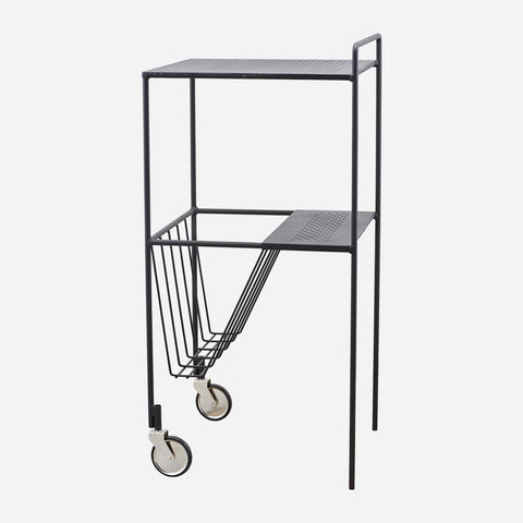 House Doctor Trolley Use Rullebord, Sort