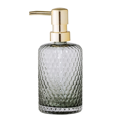 Bloomingville Soap Dispenser, Grey, Glass