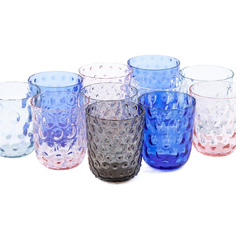 Kodanska Danish Summer Tumbler Big Drops Clear, S