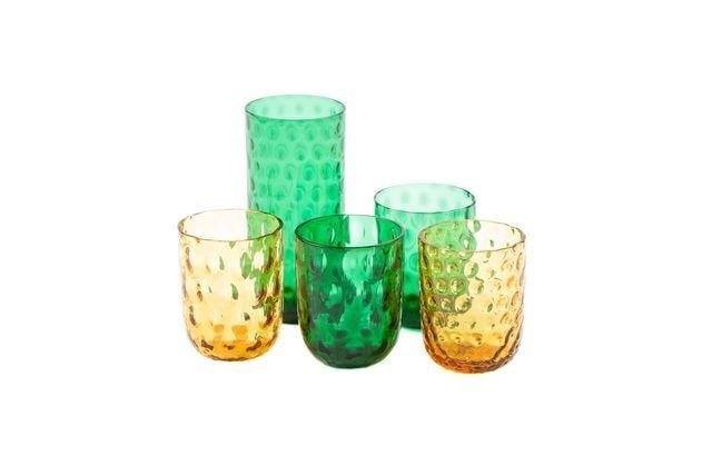 Kodanska Danish Summer Tumbler Big Drops Green, S