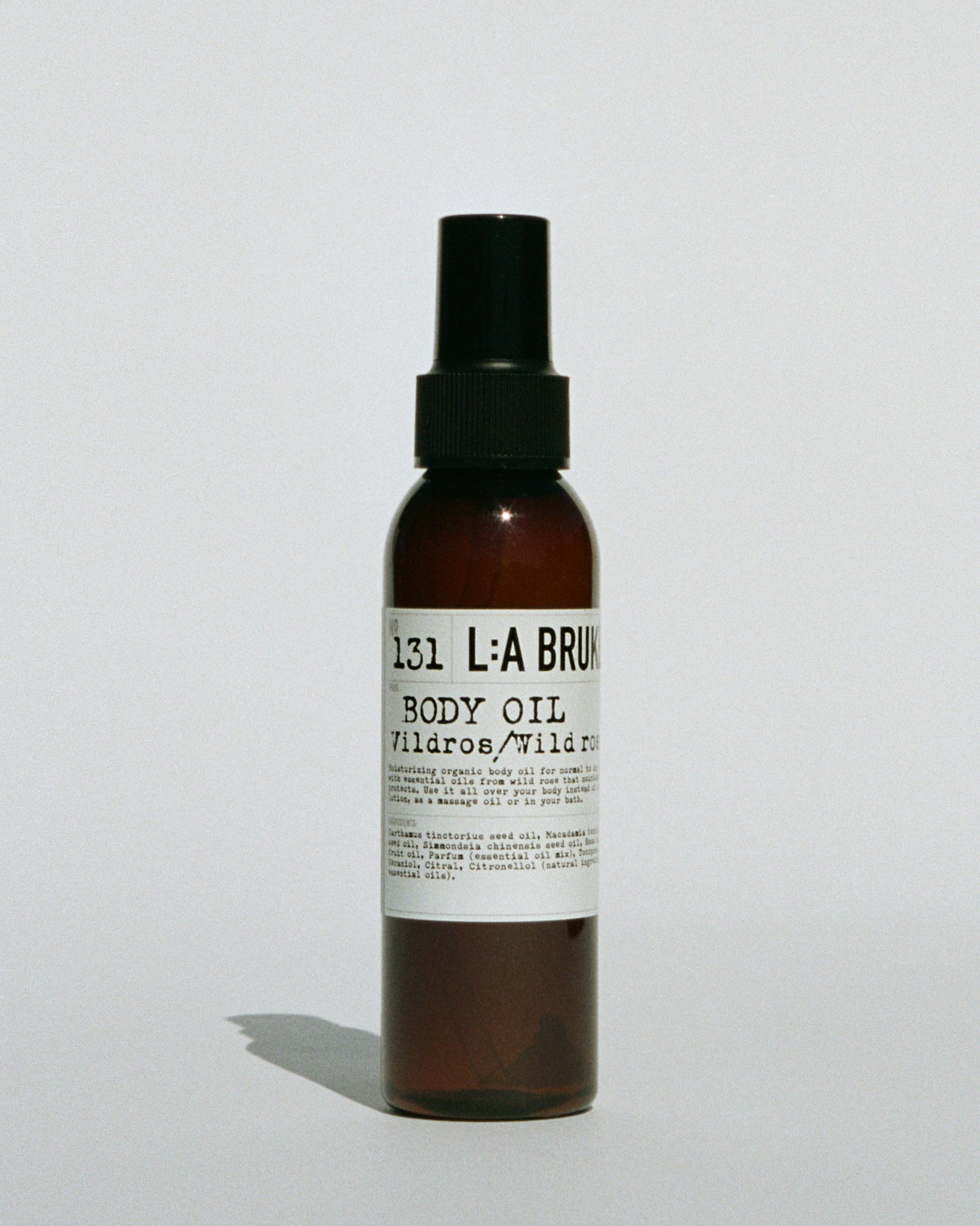 L:A Bruket 131 Body Oil, Wild Rose, 120ml