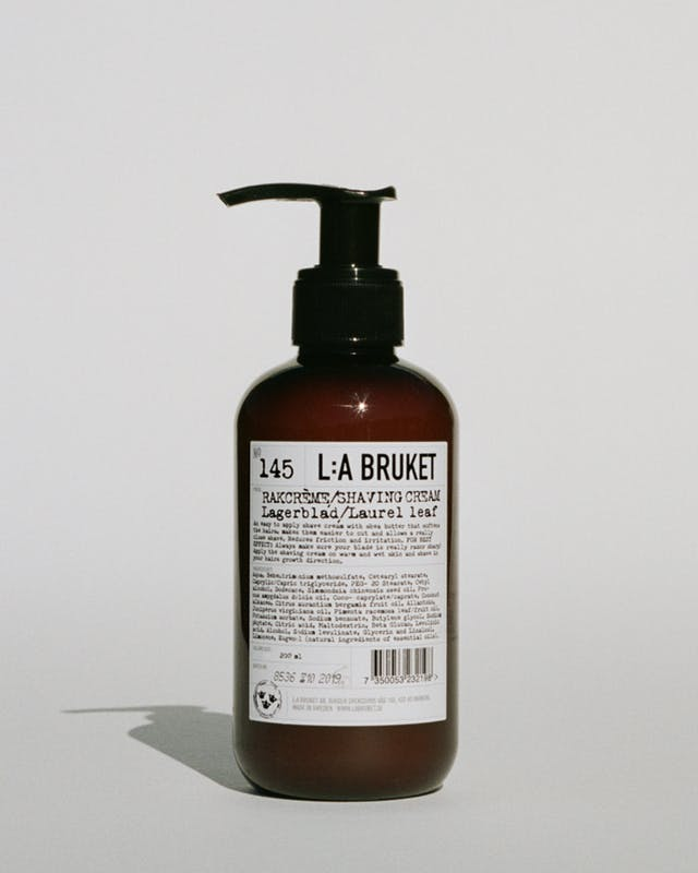 L:A Bruket 145 barbercreme, Laurel Leaf, 200ml
