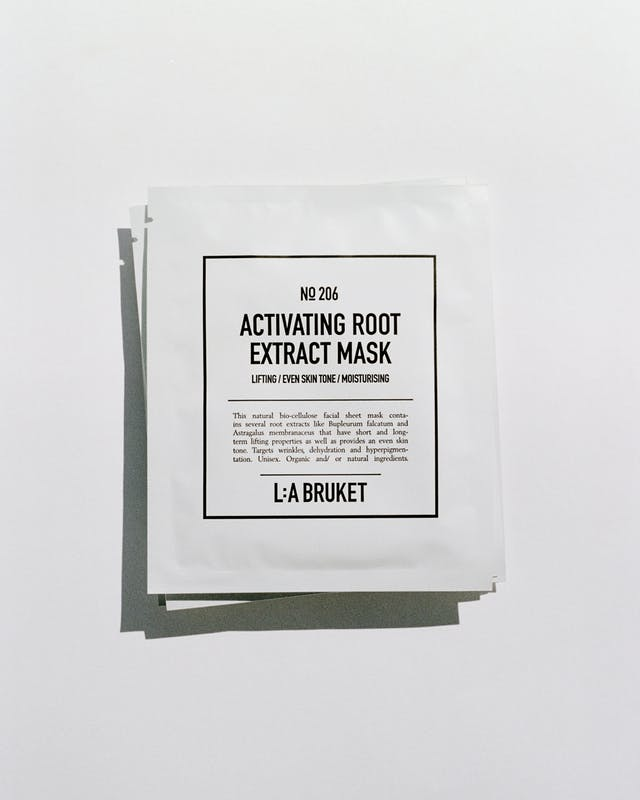 L:A Bruket 206 Activating Root Extract Mask, 4 Stks