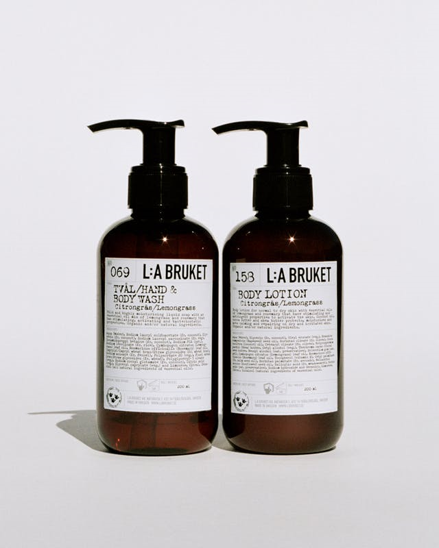 L:A Bruket 209 Duo Kit, håndsæbe og bodylotion, 2x200ml