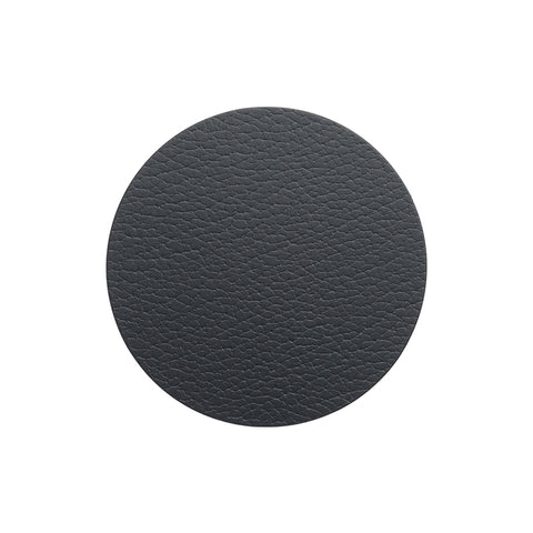 LIND DNA Glasbrik Mat Circle, Bull Læder, Black