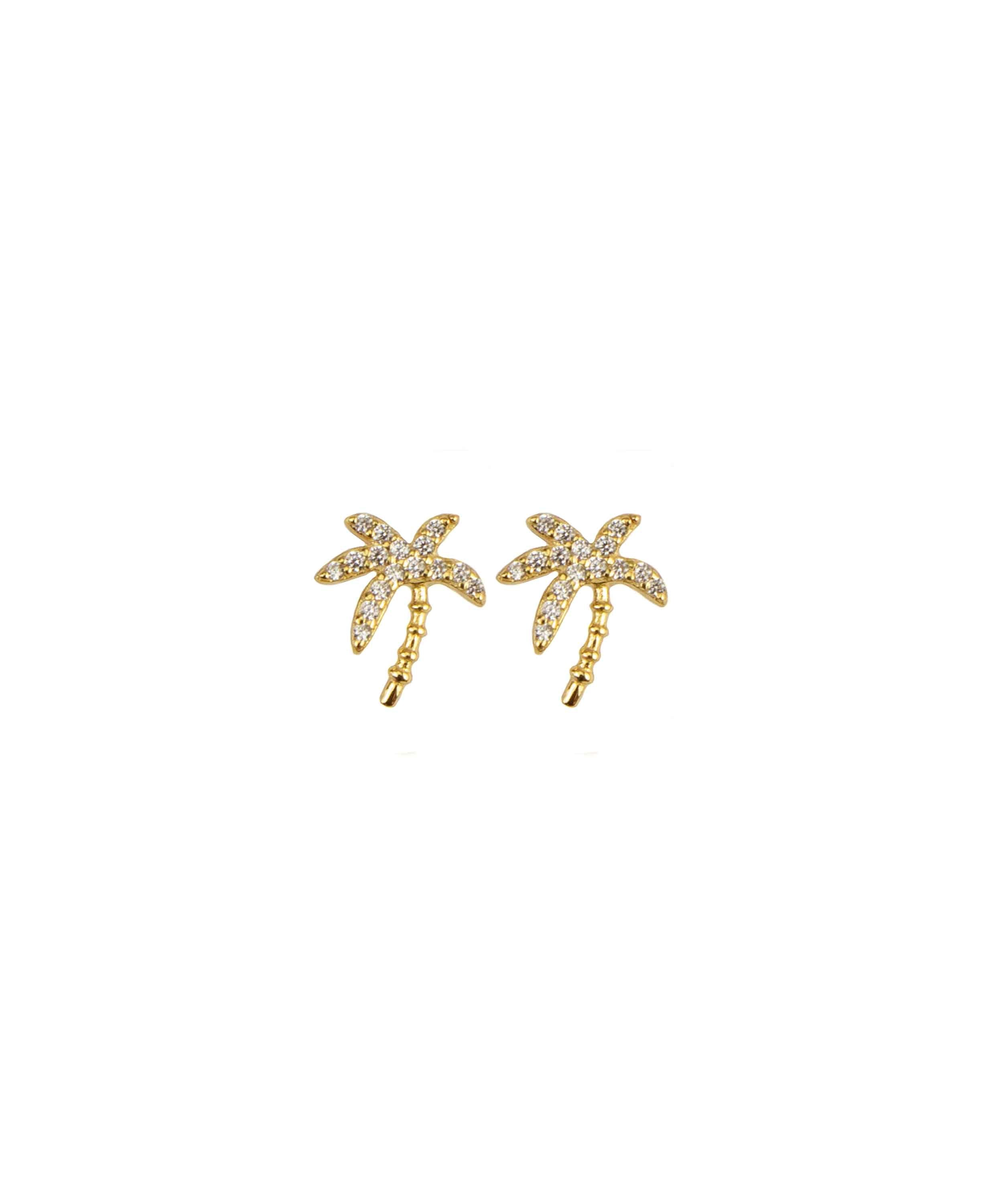 Hultquist Copenhagen, Palm Earrings