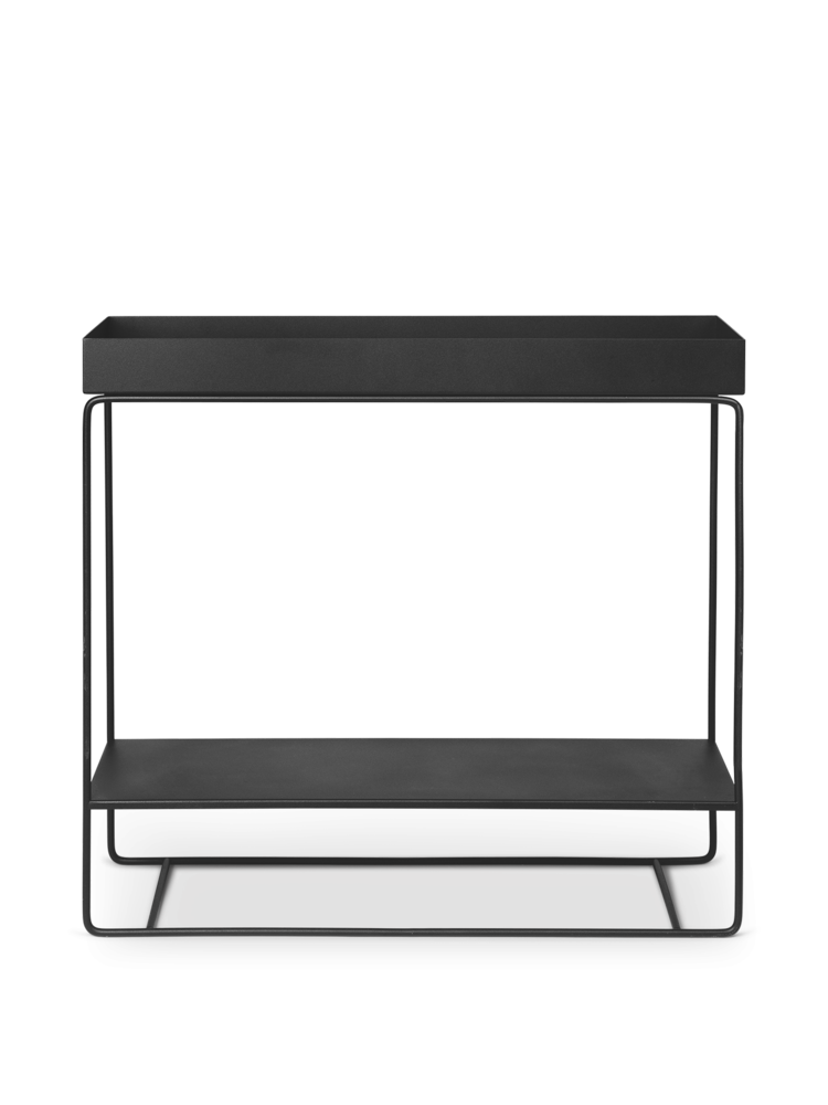 Ferm Living, Plant Box Two-Tier - Black, 80x75x25 cm
