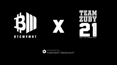 Official VeChain Press Release: VeChain Powers The Bitcoin Movement x Zuby Limited Edition Apparel Collection.