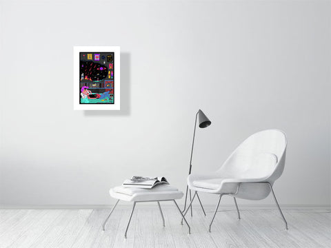 How Bitcoin Saved Earth - Limited Edition Print