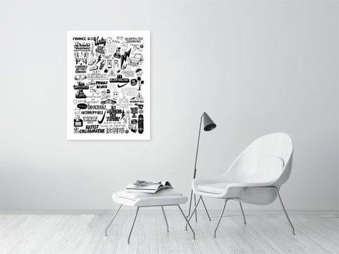 Bitcoin - The Currency of Freedom - Limited Edition Print