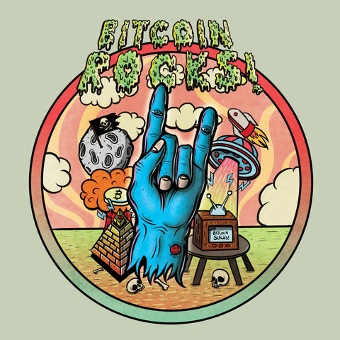 Bitcoin Rocks! T-Shirt [Limited Edition]