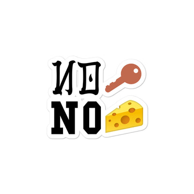 No Keys = No Cheese