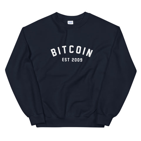 """Bitcoin Campus"" Mens Sweatshirt"