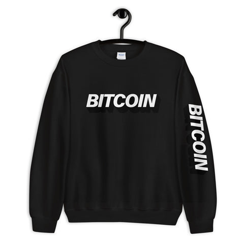 """The Mighty Bitcoin"" Womens Sweatshirt"