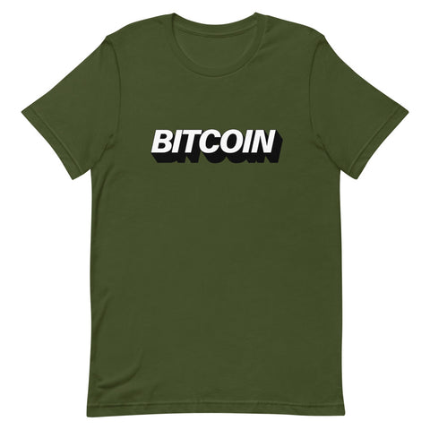 """The Mighty Bitcoin"" Womens T-Shirt"