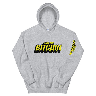 """The Renegade"" Bitcoin Mens Hoodie"