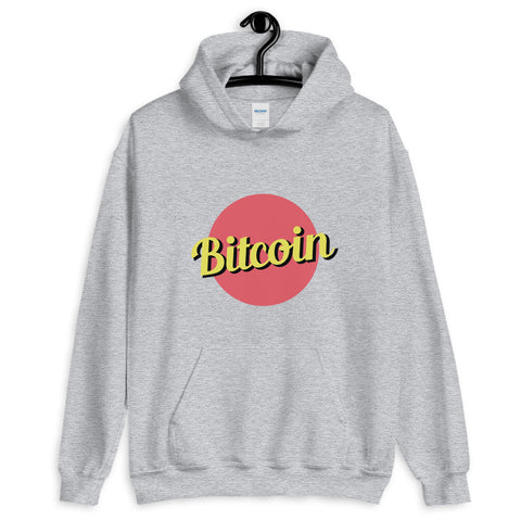 """The Retro"" Bitcoin Womens Hoodie"