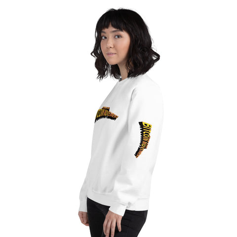 """Bitcoin Comic"" Womens Sweatshirt"