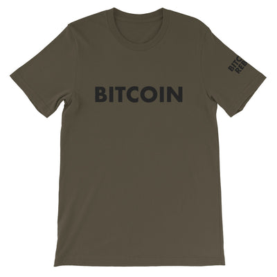 "Bitcoin Rebels ""Think Different"" Mens T-Shirt"