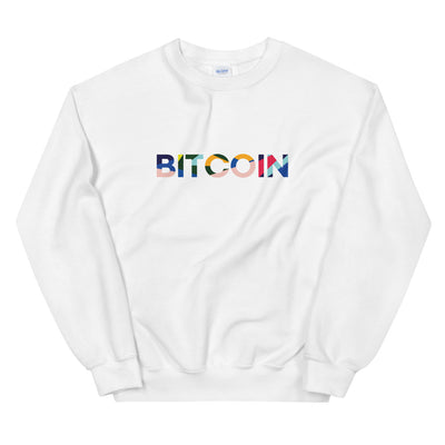 """The Avant Garde"" Bitcoin Womens Sweatshirt"