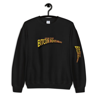"""Bitcoin Comic"" Mens Sweatshirt"