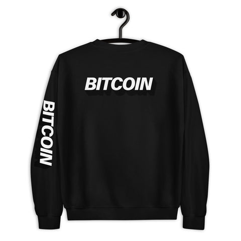 """The Mighty Bitcoin"" Mens Sweatshirt"