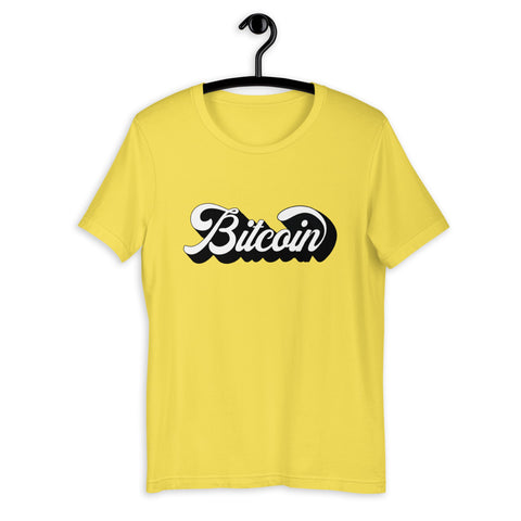 """The Vintage"" Bitcoin Womens T-Shirt"