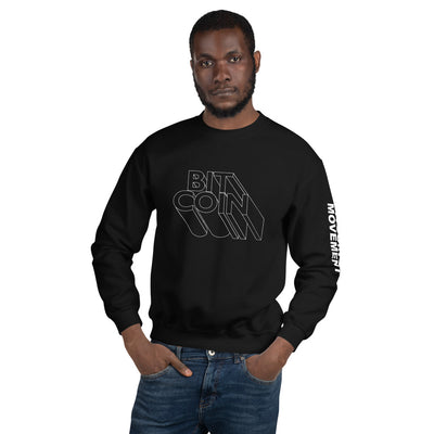 """The Bitron"" Bitcoin Mens Sweatshirt"