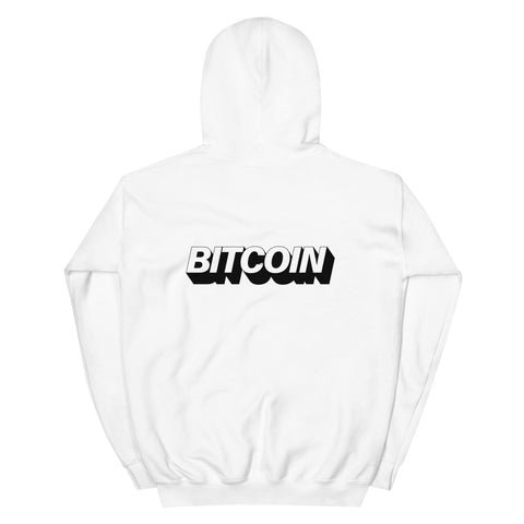 """The Mighty Bitcoin"" Womens Hoodie"