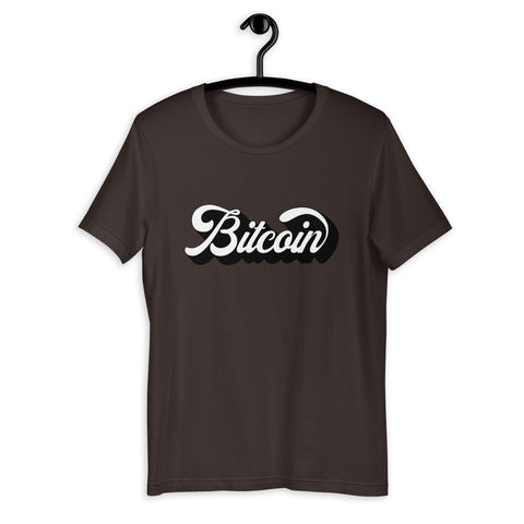 """The Vintage"" Bitcoin Mens T-Shirt"