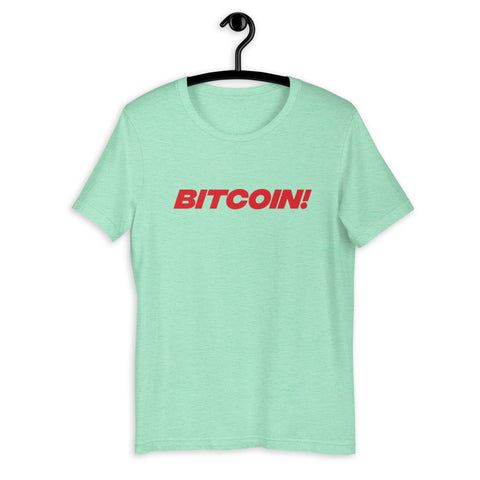 Bitcoin! Womens T-Shirt