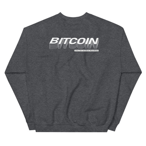 """The Quantum"" Bitcoin Mens Sweatshirt"