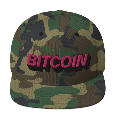 Mighty Pink Bitcoin Hat