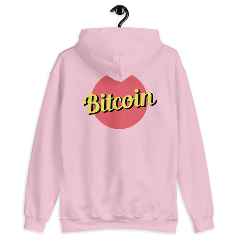 """The Retro"" Bitcoin Mens Hoodie"