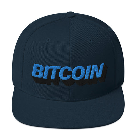 Mighty Blue Bitcoin Hat