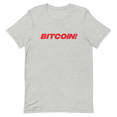 Bitcoin! Mens T-Shirt